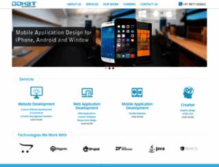 ddhat.com screenshot