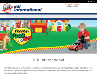 ddi-int.com.au screenshot