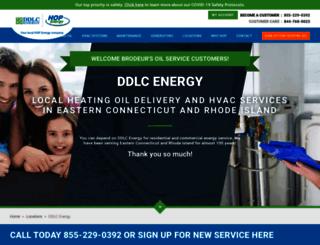 ddlcenergy.com screenshot