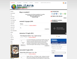 ddlitalia.blogspot.com screenshot