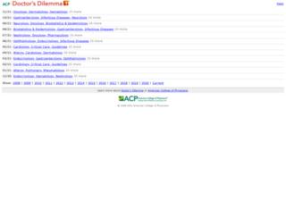 ddm.acponline.org screenshot