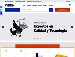 ddn.com.mx screenshot