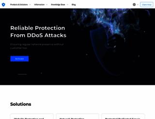 ddos-guard.net screenshot