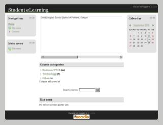 ddouglas.orvsd.org screenshot