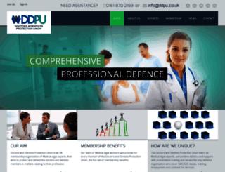 ddpu.co.uk screenshot