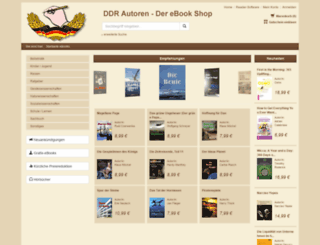 ddrautoren.e-bookshelf.de screenshot