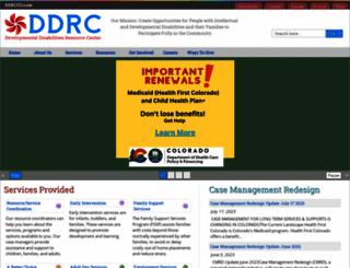 ddrcco.com screenshot