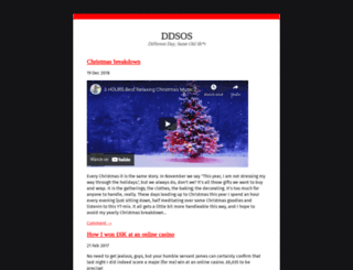 ddsos.org screenshot