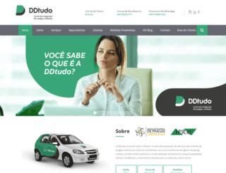 ddtudo.com.br screenshot