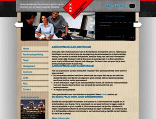 de-aankoopmakelaar-in-amsterdam.nl screenshot