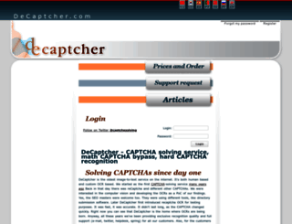 de-captcher.com screenshot