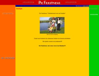 de-feestneus.nl screenshot