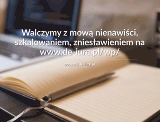 de-iure.pl screenshot