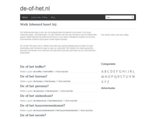 de-of-het.nl screenshot
