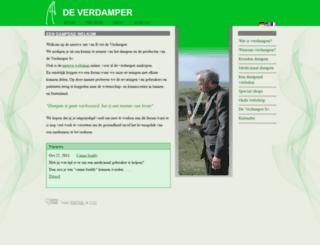 de-verdamper.nl screenshot