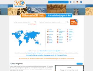 de.360tourist.net screenshot
