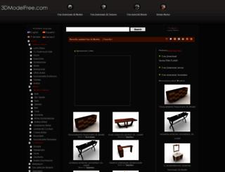 de.3dmodelfree.com screenshot