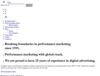 de.adpepper.com screenshot