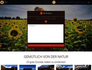 de.agriturismo.com screenshot