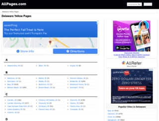 de.allpages.com screenshot