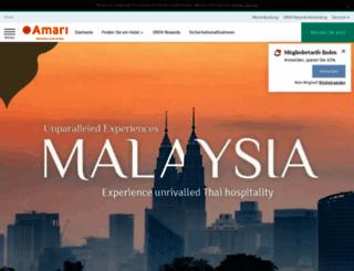 de.amari.com screenshot