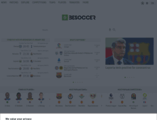 de.besoccer.com screenshot