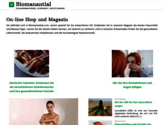 de.biomanantial.com screenshot