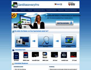 de.cardrecoverypro.com screenshot