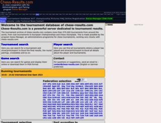 de.chess-results.com screenshot