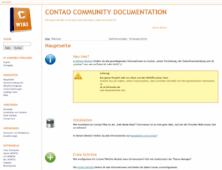 de.contaowiki.org screenshot