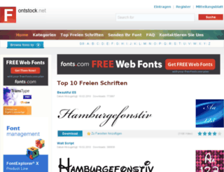 de.fontstock.net screenshot