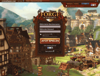 de.forgeofempires.com screenshot
