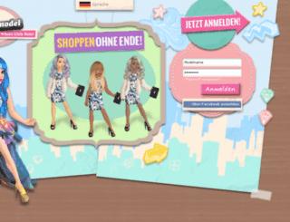 de.gosupermodel.com screenshot