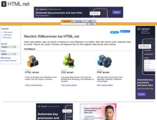 de.html.net screenshot