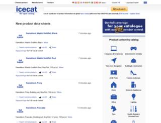 de.icecat.biz screenshot