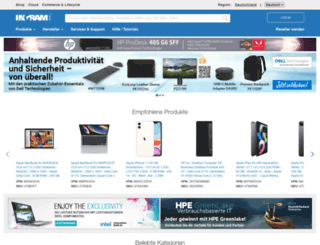 de.ingrammicro.com screenshot