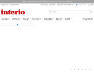 de.interio.ch screenshot