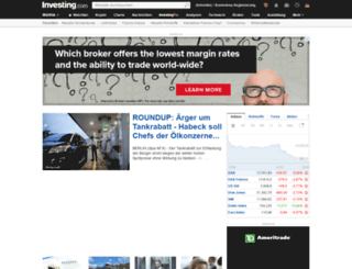 de.investing.com screenshot