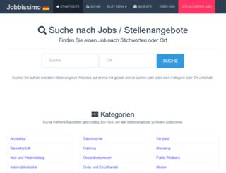 de.jobbissimo.com screenshot