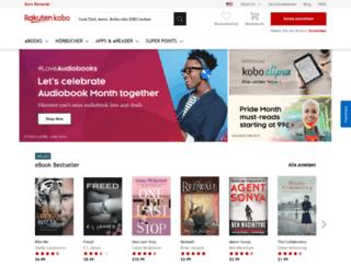 de.kobo.com screenshot