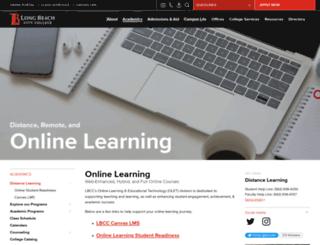 de.lbcc.edu screenshot