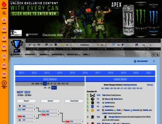de.leaguepedia.com screenshot