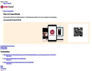 de.lgworld.com screenshot