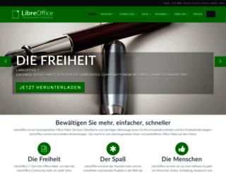de.libreoffice.org screenshot