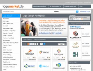 de.logomarket.com screenshot
