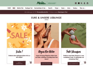 de.melvita.com screenshot