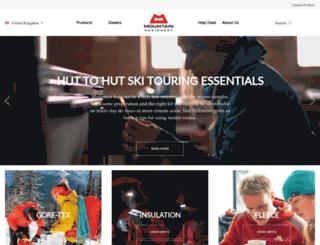 de.mountain-equipment.co.uk screenshot
