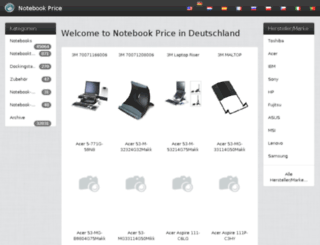 de.notebook-price.com screenshot