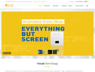 de.omnik-solar.com screenshot