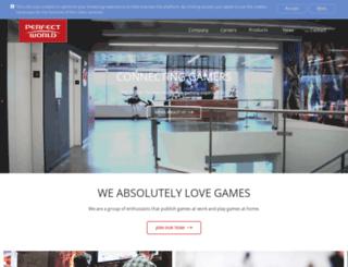 de.perfectworld.eu screenshot
